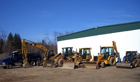 Excavation Equipment from Vintage Construction Inc, General Contracting Services in Essex, CT