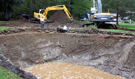 Residential Excavation Services from Vintage Construction Inc, General Contracting Services in Essex, CT